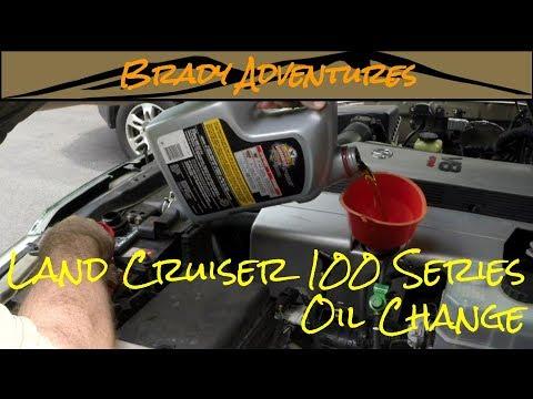 DIY Oil Change - Land Cruiser 100 Series