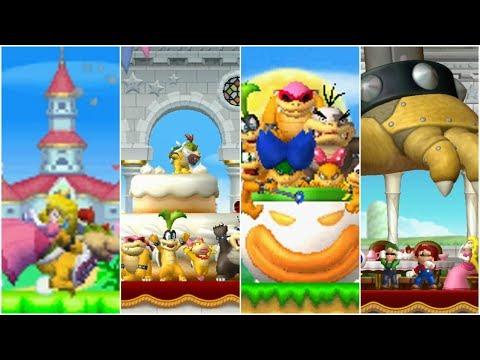 New Super Mario Bros Series - All Intros