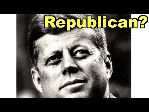 JFK Posthumously Joins Republican Party?