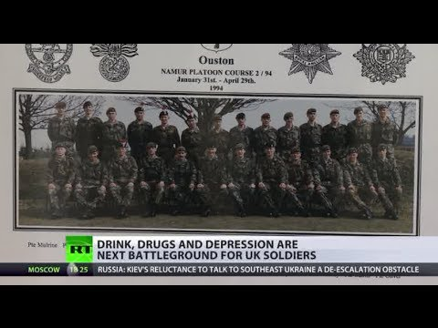 Drink, drugs & depression: UK soldiers suffer on personal battlefields