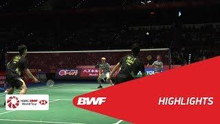 DAIHATSU YONEX JAPAN OPEN 2018 | Badminton MD - SF - Highlights | BWF 2018
