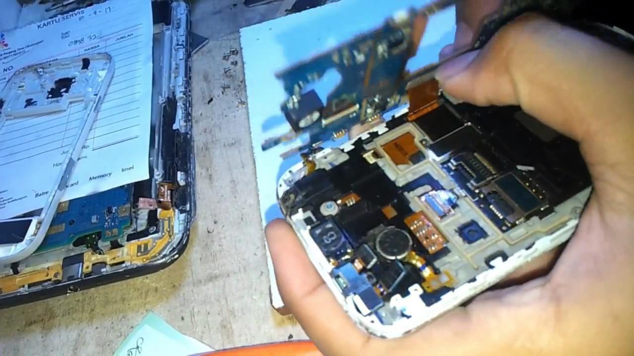 Cara Memperbaiki Handphone Yang Konslet Dengan Batre Bekas Youtube