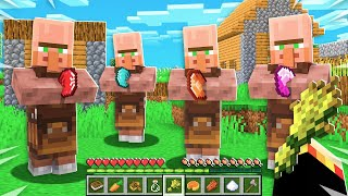 I Found a VILLAGER Only Server in Minecraft!