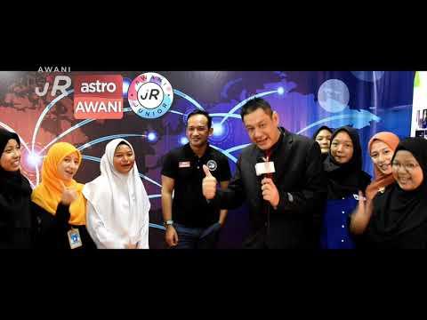 #AWANIJr: Wow jadinya bila YM Raja Hisham dan Tn Hj Amir bergabung bersama Eduwave TV