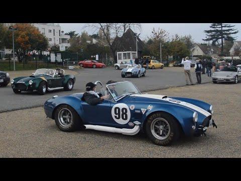 6x Shelby Cobra at Cars & Coffee Paris