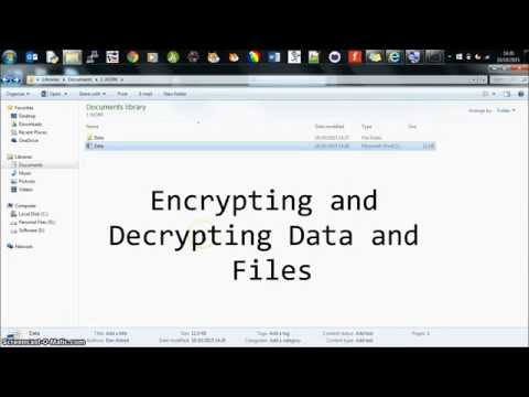 Encryption and Decryption with 7-zip