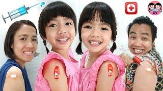 หนูยิ้มหนูแย้ม   ฉีดวัคซีน