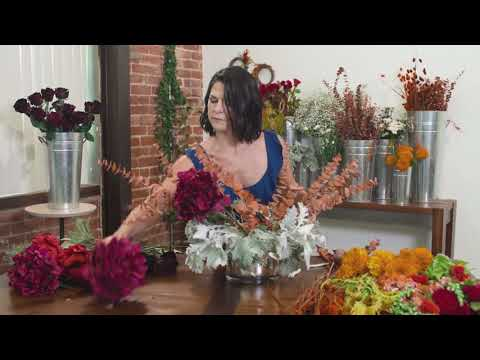 Create a Fall Tablescape Centerpiece - The Flower Kitchen