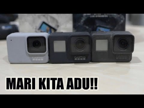 Gopro Hero 7 Black & White VS Gopro Hero 5 Black [Bukabox Gadget]
