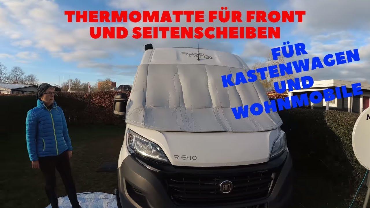 Carbest Thermomatte für Fiat Ducato Pössl Kastenwagen Wohnmobil Winterfest  machen