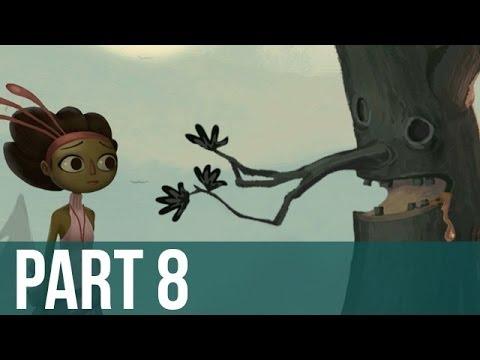 Broken Age Gameplay Walkthrough - Part 8 - Screaming Trees!! (PC/Mac)