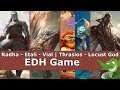 Radha vs Etali vs Vial | Thrasios vs Locust God EDH / CMDR game play for Magic: The Gathering