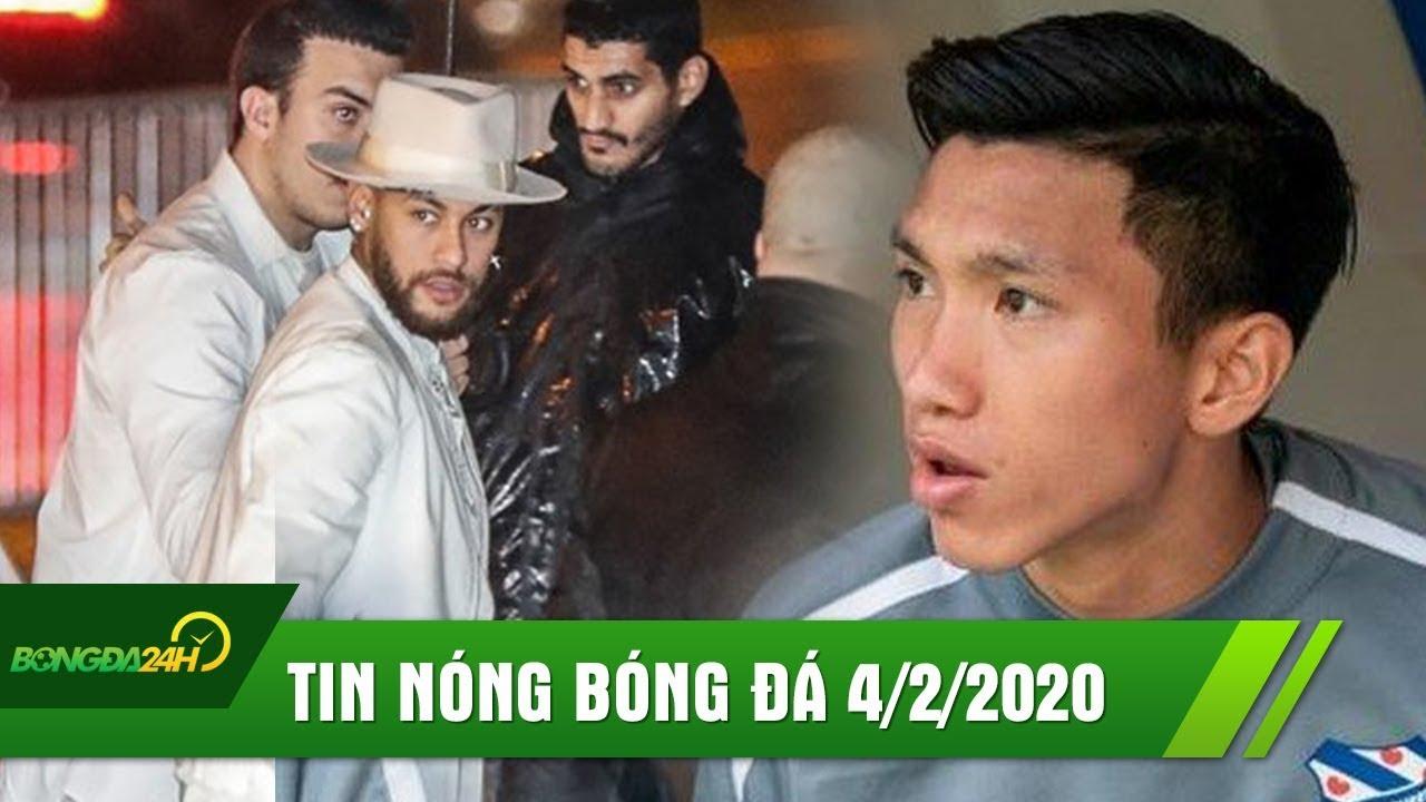 TIN NÓNG BÓNG ĐÁ 4/2: Neymar đón sinh nhật với dàn sao KHỦNG;Văn Hậu chán chường,cú lừa ở Heerenveen