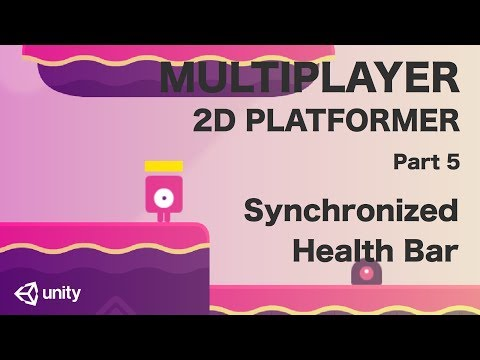 Unity Multiplayer 2D Platformer Tutorial (Part 5) - Synchronized Health Bar thumbnail