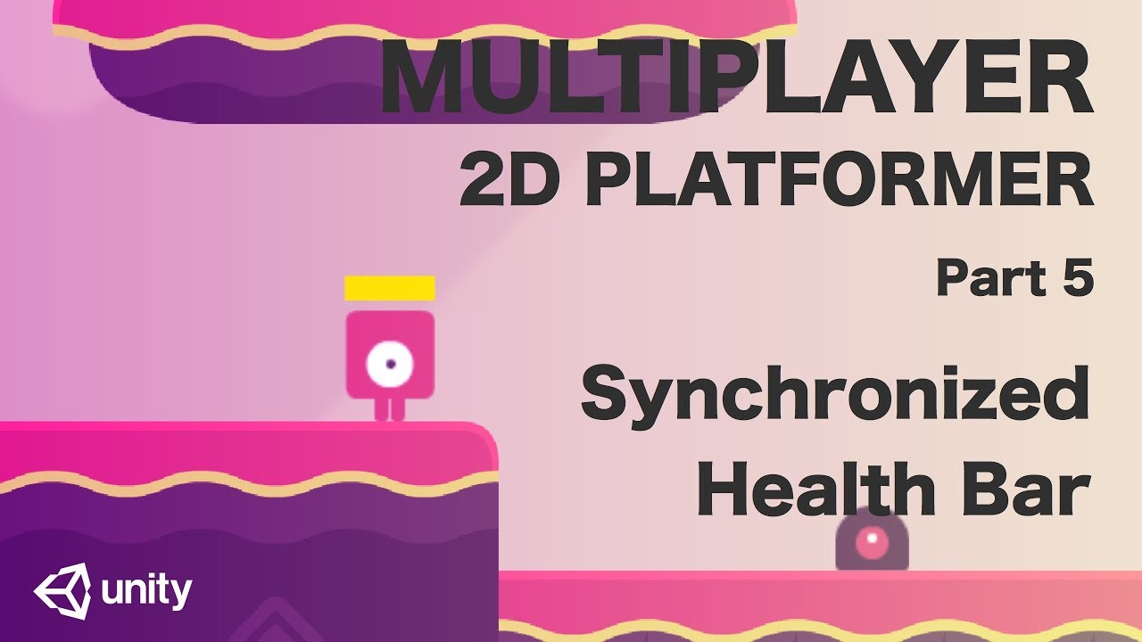 Unity Multiplayer 2D Platformer Tutorial (Part 5) - Synchronized Health Bar
