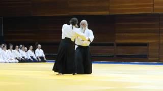 30 lecie aikido w Bułgarii - pokaz Georgii Penev