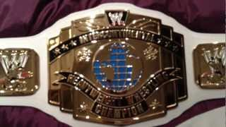 WWE Classic Intercontinental Championship Replica Belt