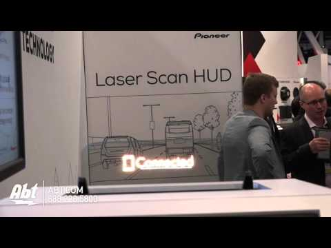 Pioneer Laser Head-Up Display - Abt CES 2016