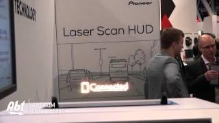 Pioneer Laser Head-Up Display - Abt CES 2016
