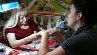 Соколова Светлана: Как ускорить моделирование и коррекцию ногтей.(Мои простые, не замысловатые высказывания по поводу того как ускорить работу по моделированию и коррекции..., 2012-11-08T18:05:04.000Z)