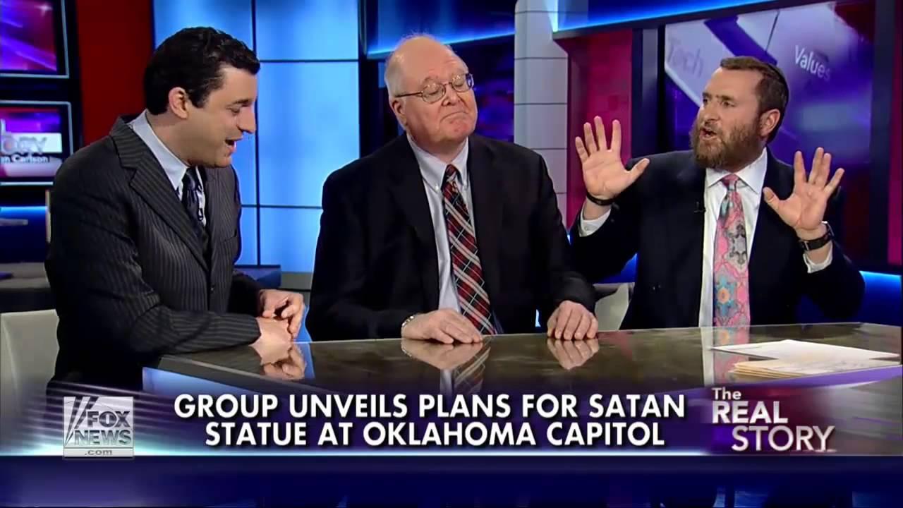 Apollyon Rising : Satanic Temple unveils 7ft goat-headed Baphomet statue for Oklahoma (Jan 08, 2013)