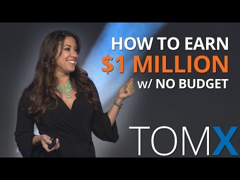 How to Earn $1 Million in Real Estate in 4 Steps with Absolutely NO BUDGET | Monica Carr | TomX 2016