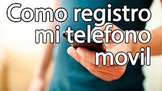 como registrar mi teléfono celular en colombia
