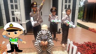 SERU dan ASIK nya Drama Polisi Cilik - Drama Anak Kecil jadi Polisi Part 2 - Aidy Family