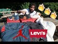 LEVI'S JORDAN 4 + TRUCKER JACKETS (BLUE, WHITE, BLACK)  PICKUP AND REVIEW