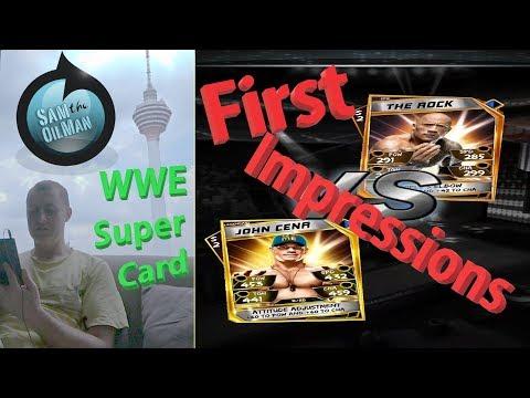WWE Super Card first impressions