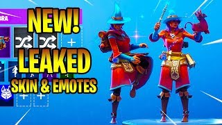 *NEW* Leaked ELMIRA Skin & Emotes (Knee Slapper, Llamacadabra, Bombastic...) Fortnite Battle Royale