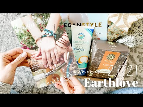 Earthlove Unboxing Summer