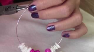 Diy Valentine: Pretty Pink Hoop Earrings