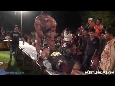 Hardcore Championship Match - Deep Randhawa Vs Dev The Bull  (Indian Pro Wrestling Action)