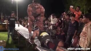 Hardcore Championship Match - Deep Randhawa vs Dev The Bull  (Indian Pro Wrestling Action)