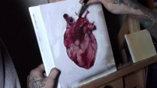 Time lapse of anatomical heart by Matt Stolzenburg
