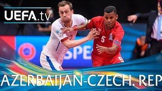 Futsal EURO Highlights: Azerbaijan 6-5 Czech Republic: watch 11 goals