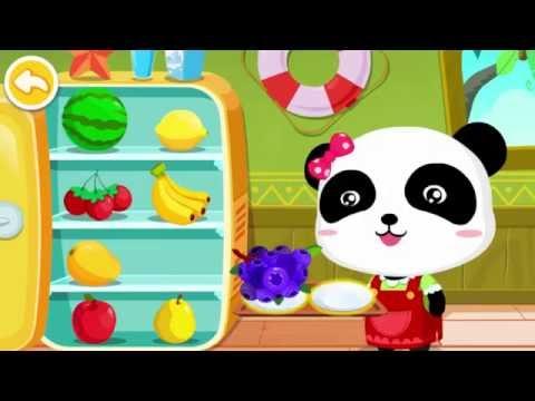 Игра для малышей 2-5 лет. Мороженое и смузи. Baby Bus.