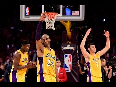 Una despedida magistral: Kobe Bryant anotó 60 puntos en su último partido