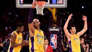 Repeat youtube video Kobe Bryant Drops 60 in Final Game of Career!!