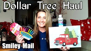 Dollar Tree Haul | Opening Items & Trying Them/All NEW| Smiley mail/ Dec 8th