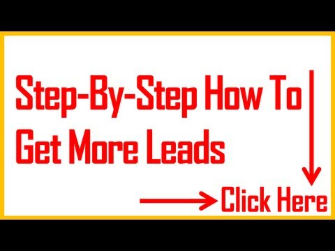 Business Leads – Step By Step How To Get Them