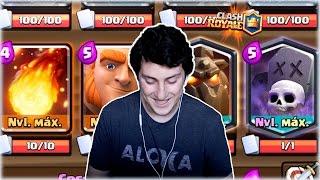 ¡¡ REPETIMOS CON UNA CUENTA AL MAXIMO EN EL TOP (+5300 COPAS) !! - Clash Royale [WithZack]