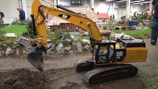 1:8 Scale RC Monster Excavator 155 KG ! CAT 349L