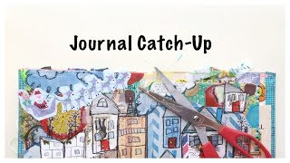 Junk Journal Flip Through: Journal Process: Binder Journal