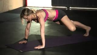 Tree Pose Push Up  Yoga Challenge