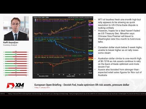 Forex News: 11/01/2019 - Dollar pulls back on dovish Fed; Powell speech awaited