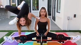 How Far Can You SPLIT CHALLENGE (w/ Sofie Dossi)