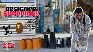 MCM X BAPE Collection SHOPPING SPREE!! HOW MUCH DID I PAY??!!