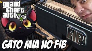 GTA 5 - Gato Mia no FIB, CROSS NÃO VALE NADA